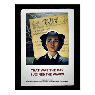 Mujeres de Wwii Tarjeta Postal