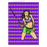 Mujeres del Amazonas que luchan Tarjetón