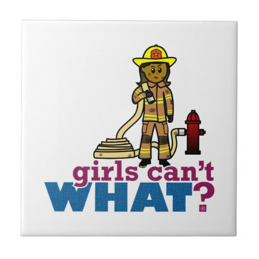 Mujeres del bombero teja
