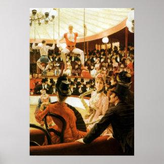 Mujeres del ~ de París el ~ de James Tissot del ~  Poster