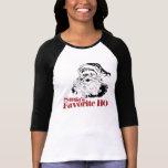 Mujeres del favorito de Santas HO Camiseta