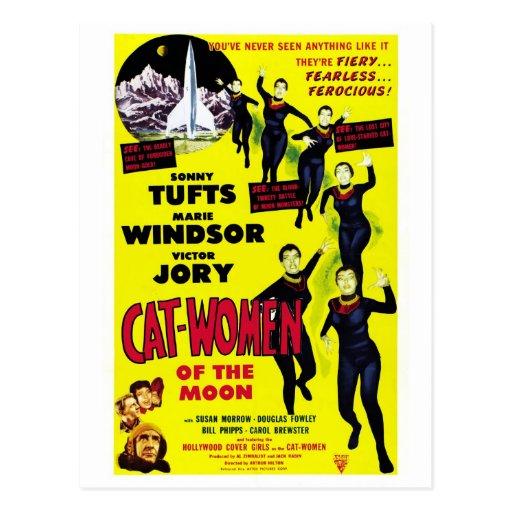"""""""Mujeres del gato postal de la luna"""""""