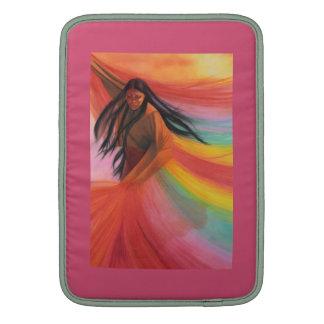 """Mujeres del nativo americano 13"""" manga de aire de fundas MacBook"""