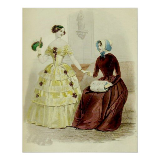 Mujeres del Victorian Poster