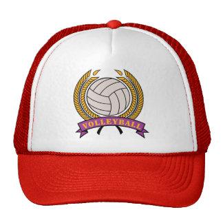 Mujeres del voleibol gorras