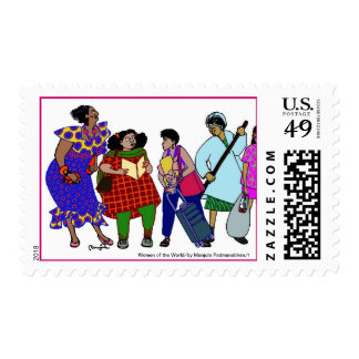 Mujeres del World/1 Timbres Postales
