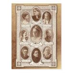 Mujeres eminentes postal