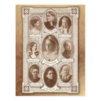 Mujeres eminentes postales
