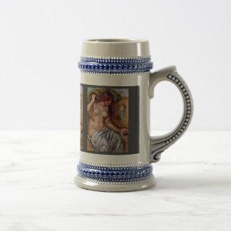 Mujeres en bien cerca Pierre-Auguste Renoir Taza