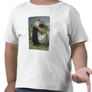 Mujeres en el campo 1882 camiseta