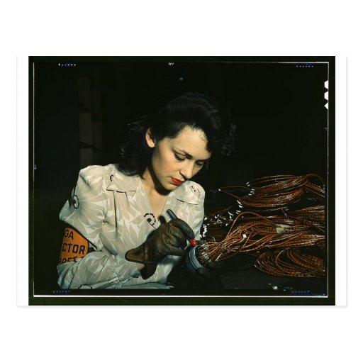 Mujeres en el lugar de trabajo durante WWII Postal