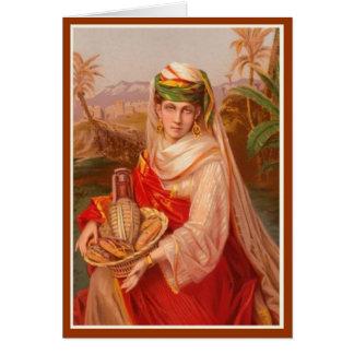 Mujeres en la biblia - Abigail Tarjeta De Felicitación