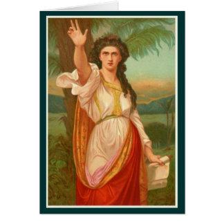Mujeres en la biblia - Deborah Tarjeta De Felicitación