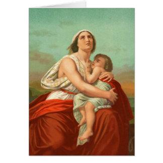 Mujeres en la biblia - Hagar Tarjeta De Felicitación