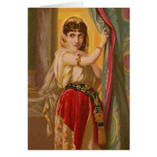Mujeres en la biblia - Jezabel Tarjetas
