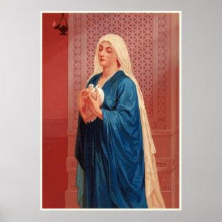 Mujeres en la biblia - Maria (madre de Jesús) Posters