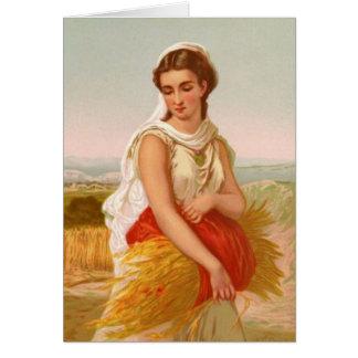 Mujeres en la biblia - Ruth Tarjeta