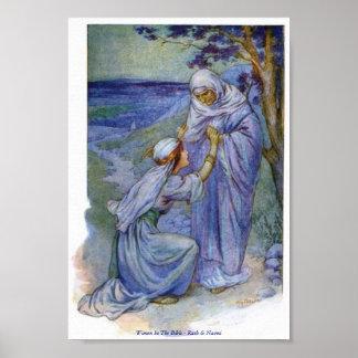 Mujeres en la biblia - Ruth y Naomi Poster