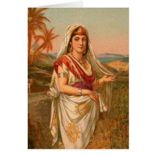 Mujeres en la biblia - Sarah la princesa Tarjeta De Felicitación