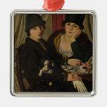 Mujeres en un café, c.1924 ornamentos de reyes magos