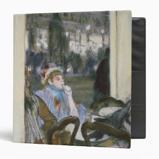 """Mujeres en una terraza del café, 1877 carpeta 1 1/2"""""""