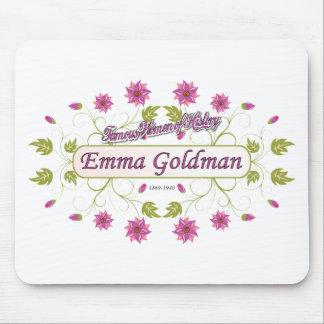 Mujeres famosas de Emma Goldman los E.E.U.U. del ~ Alfombrilla De Raton