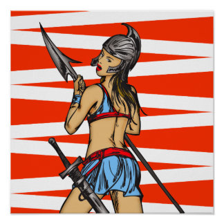 Mujeres fuertes del Amazonas Póster