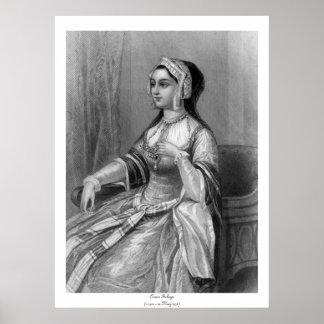 Mujeres históricas - Ana Bolena Póster