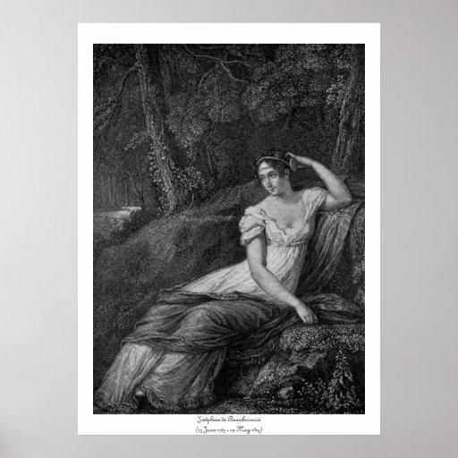 Mujeres históricas - Joséphine de Beauharnais Posters