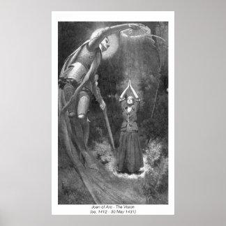 Mujeres históricas - Juana de Arco Posters