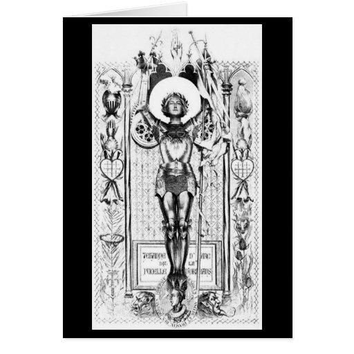 Mujeres históricas - Juana de Arco Tarjeta