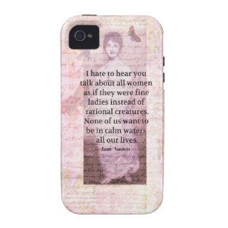 Mujeres inspiradas de la capacitación de la cita iPhone 4/4S carcasa