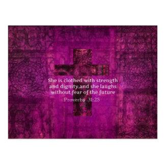 Mujeres inspiradas del verso de la biblia del postales