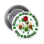 Mujeres irlandesas camorristas pin