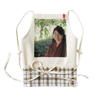 Mujeres japonesas delantal zazzle HEART