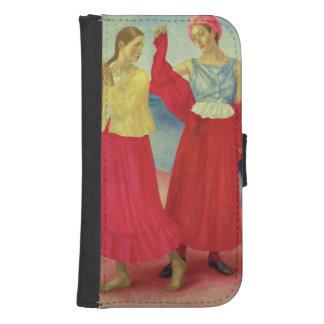 Mujeres jovenes en el Volga, 1915 Fundas Tipo Billetera Para Galaxy S4