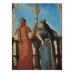 Mujeres judías en el balcón, Argel, 1849 Postales
