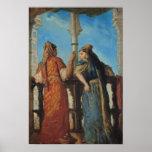 Mujeres judías en el balcón, Argel, 1849 Posters