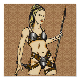 Mujeres legendarias del Amazonas Póster