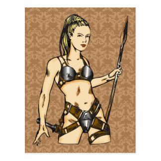 Mujeres legendarias del Amazonas Postal