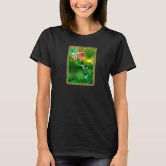 Mujeres mágicas de la camiseta del colibrí