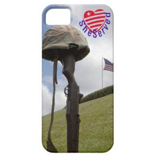 ¡Mujeres militares, SheServed su país también! iPhone 5 Carcasa