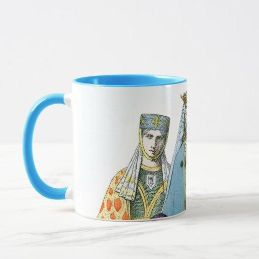 Mujeres nobles alemanas medievales - trajes de taza