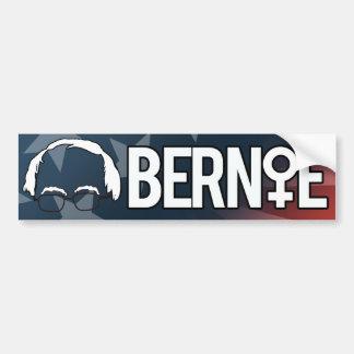 Mujeres para Bernie - las chorreadoras de Bernie - Pegatina Para Auto