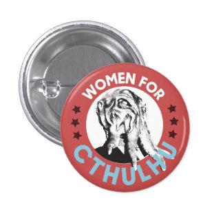 Mujeres para Cthulhu Pin Redondo De 1 Pulgada