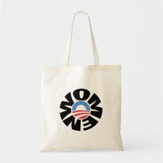 Mujeres para el tote de Obama Bolsas