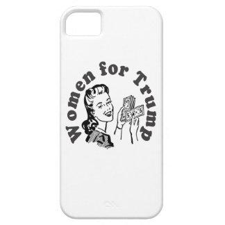 Mujeres para el triunfo - dólares Donald del iPhone 5 Carcasa