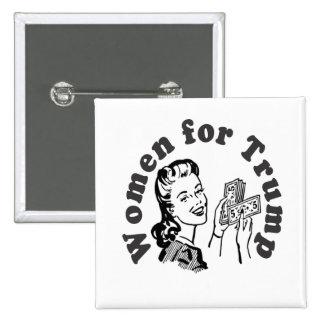 Mujeres para el triunfo - dólares Donald del Pin Cuadrado