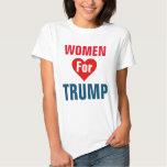 Mujeres para el #WomenForTrump del triunfo Poleras