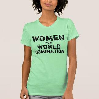 Mujeres para la dominación del mundo polera